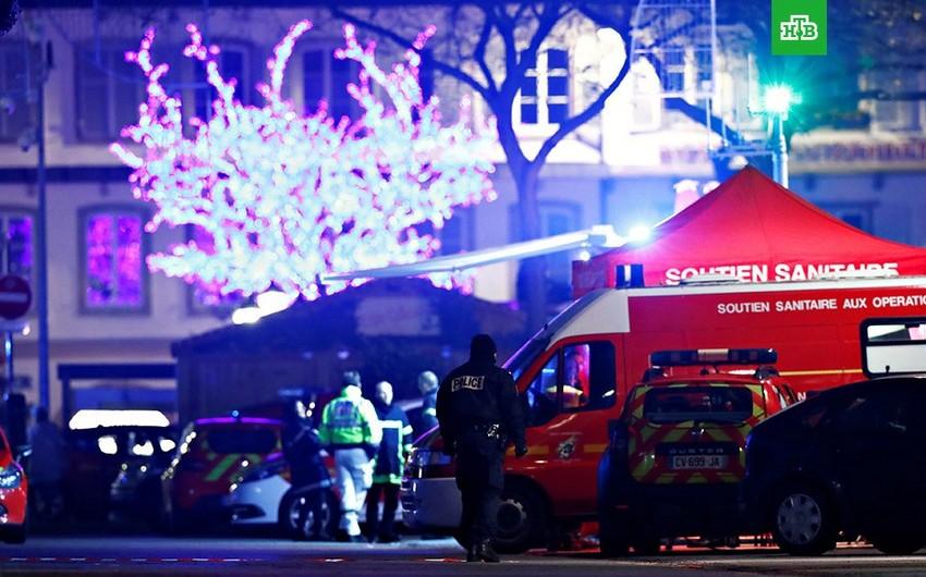 Strasburqda şəhər mərkəzindəki atışmadan sonra nümayişlər qadağan edilib
