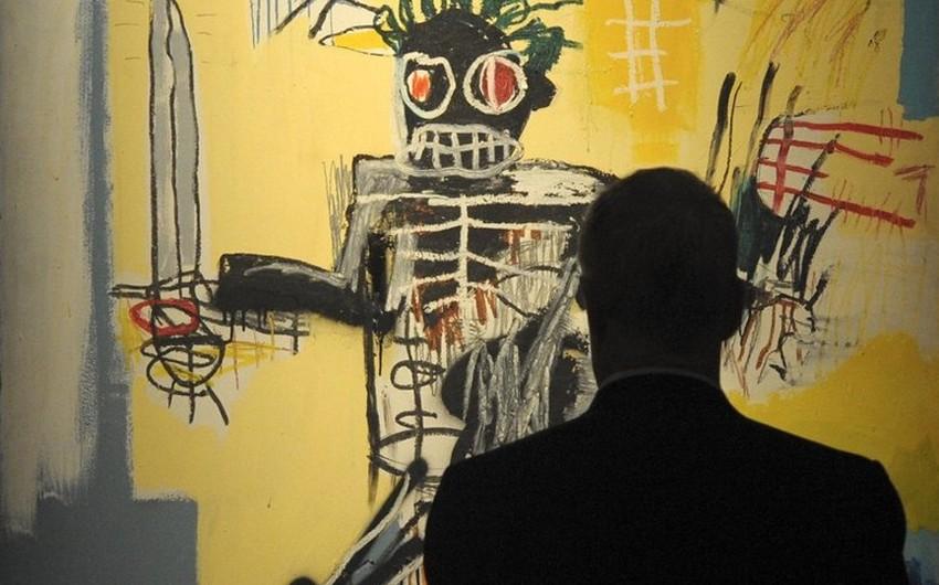 Картину Баскии Воин выставят в марте на аукционе в Гонконге