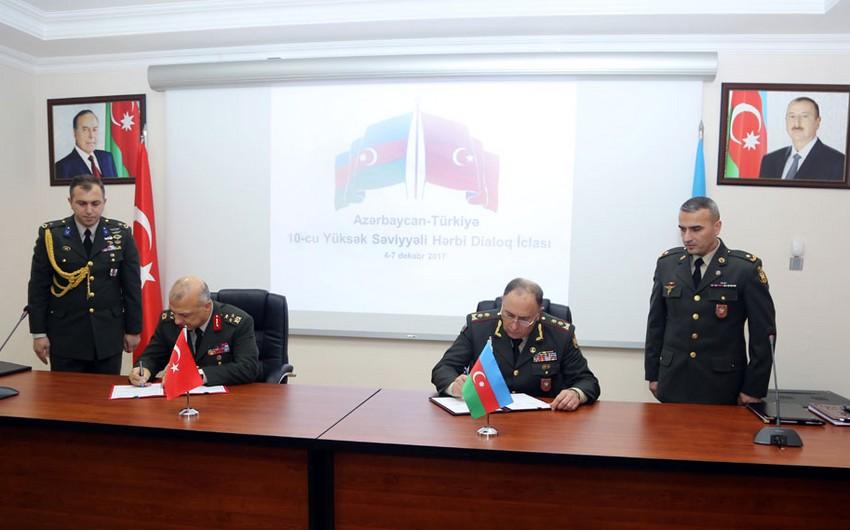 Meeting of Azerbaijan-Turkey High-Level Military Dialogue ends in Baku