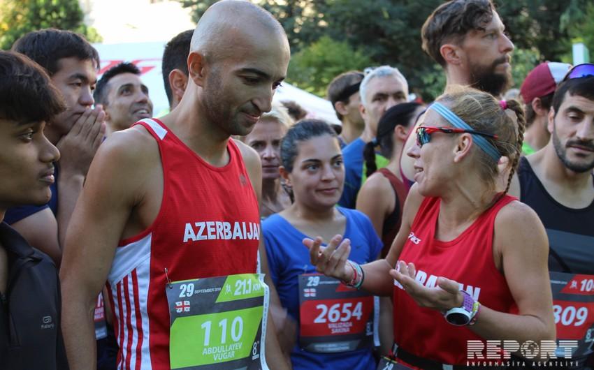 """Azərbaycan """"Tbilisi marafonu  2019""""da təmsil olunub - FOTO"""