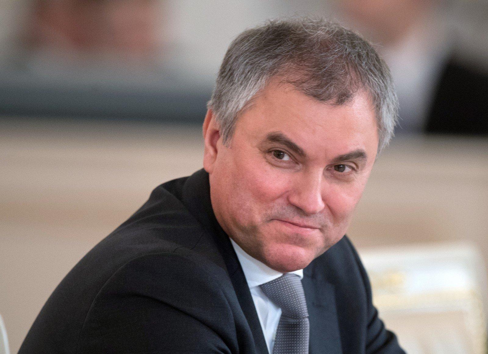 Спикер Госдумы поздравил председателя Милли Меджлиса с 9 Мая