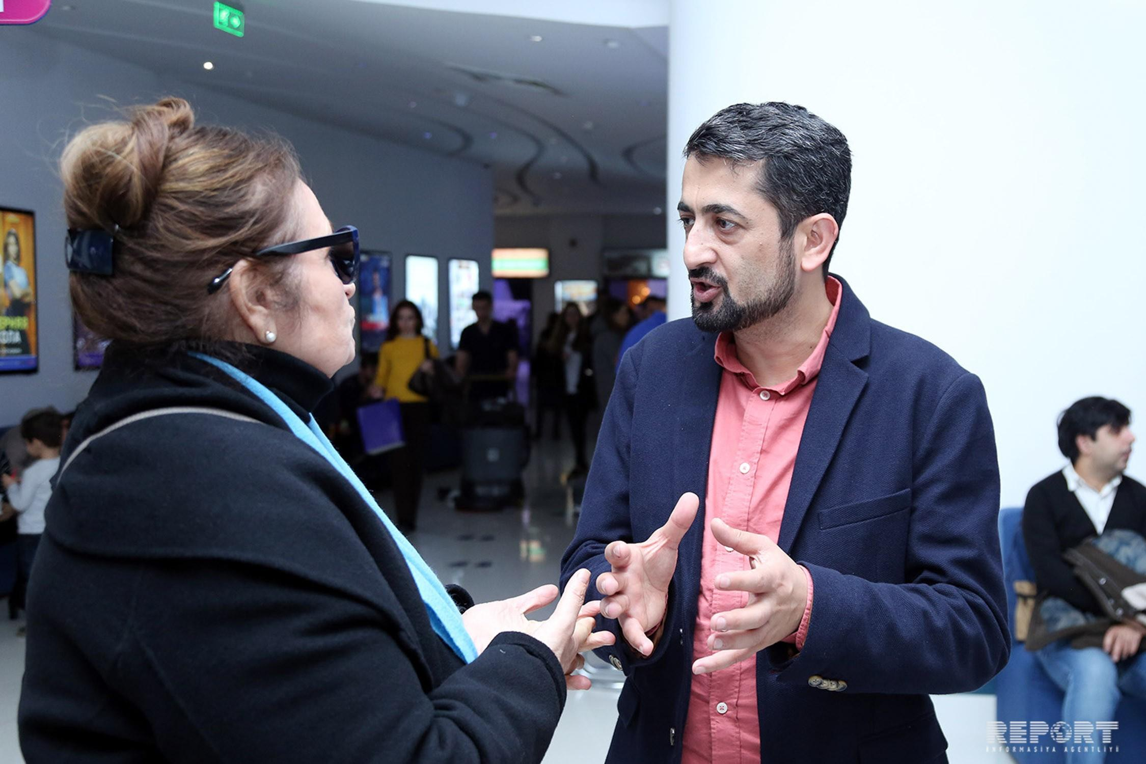 Azerbaijan hosted premiere of Three Faces