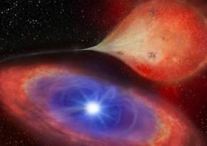 Astronomlar ilk dəfə sayrışan ağ cırtdan ulduz aşkarlayıblar