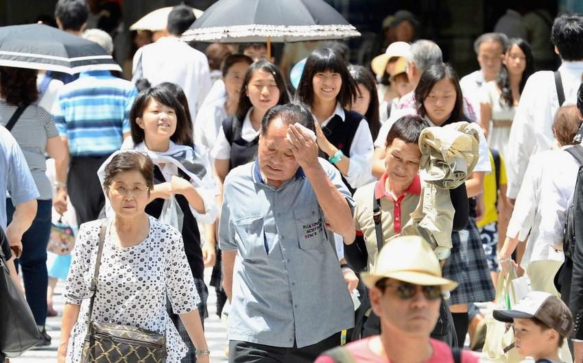 Yaponiyada bir həftə ərzində anomal istilərdən 20-dən çox insan ölüb, 11 min nəfər xəstəxanaya yerləşdirilib