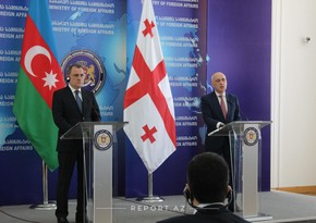 Azerbaijani Foreign Minister congratulates his Georgian counterpart