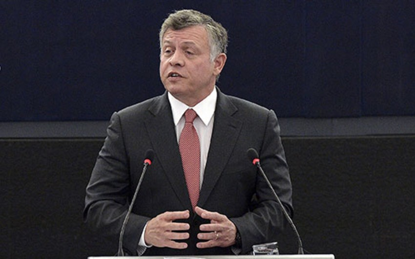 Король Иордании поздравил президента Ильхама Алиева