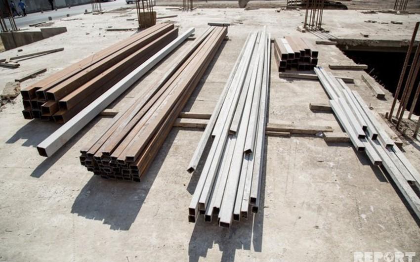 Azərbaycanda tikinti materiallarının istehsalı 5% azalıb