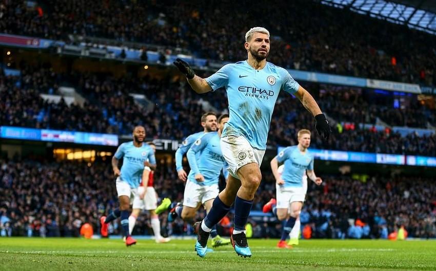 Хет-трик Агуэро принес Манчестер Сити победу над Арсеналом в матче чемпионата Англии