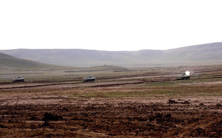 Azərbaycan Ordusunun tabor komandirlərinin hazırlıq səviyyəsi yoxlanılır