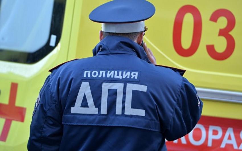 Dağıstanda avtomobil yük maşını ilə toqquşub, 5 nəfər ölüb