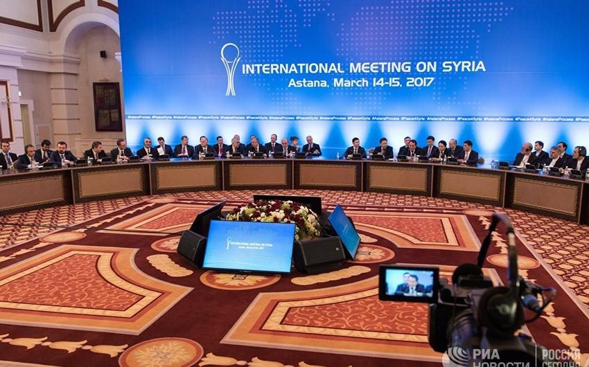 Astana danışıqlarının iştirakçıları Suriyada təhlükəsiz zonaların yaradılması haqqında sənəd imzalayıblar