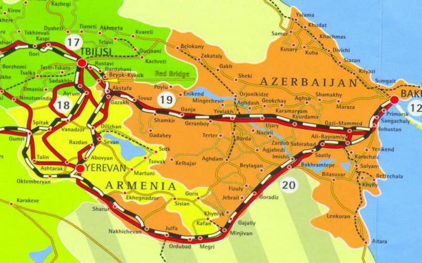 Bakı-Tbilisi-Qars dəmiryolu layihəsinin detalları müzakirə ediləcək