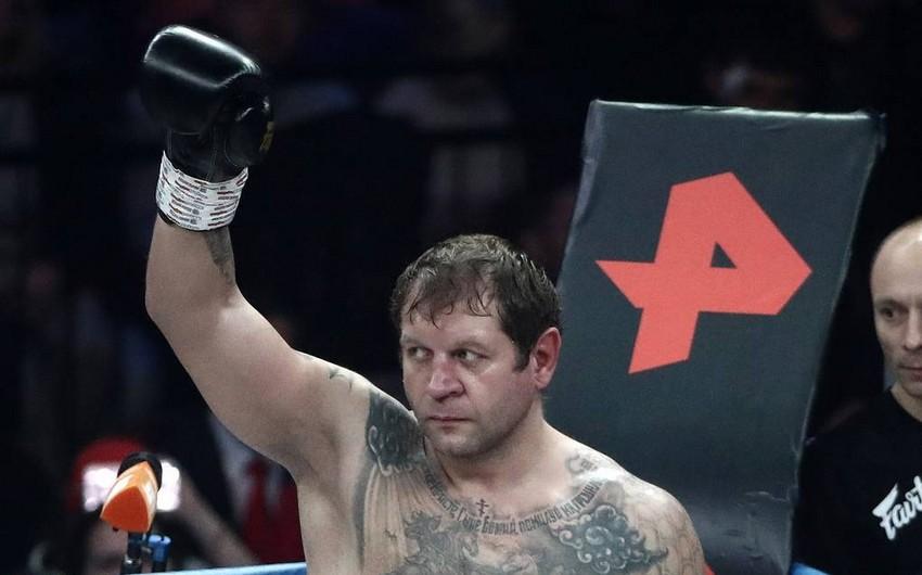 Aleksandr Yemelyanenko Ramzan Kadırovun döyüş çağırışını qəbul edib