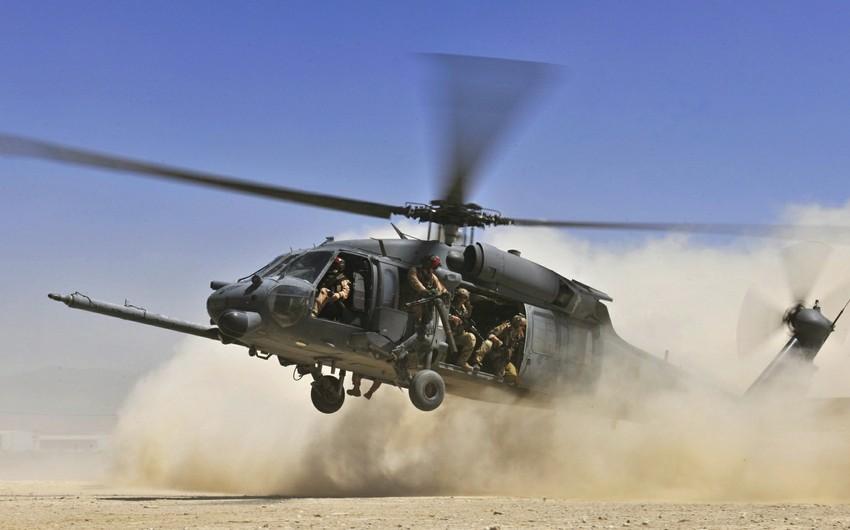 Filippində hərbi helikopter qəzaya uğrayıb, 4 nəfər ölüb