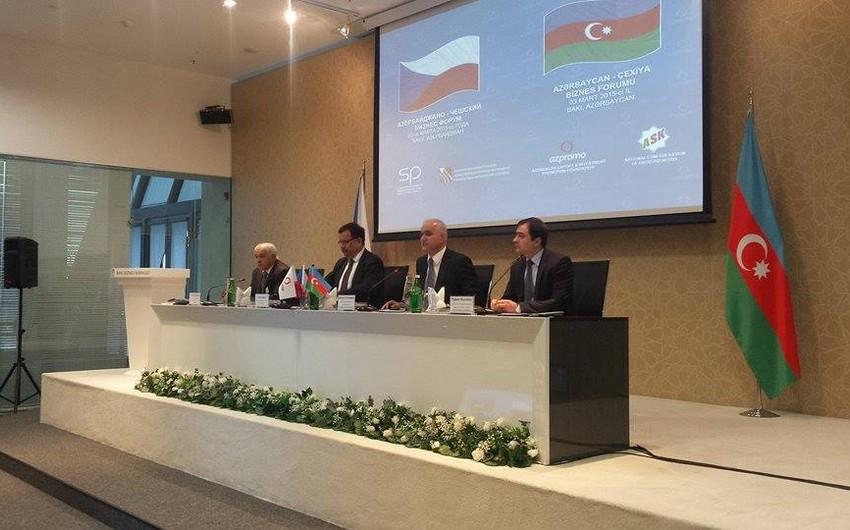 Azərbaycan və Çexiya iqtisadi əməkdaşlığı genişləndirir