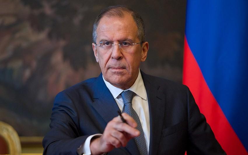 Lavrov: Suriya məsələsinin həll olunmasında müsbət irəliləyiş nəzərə çarpır