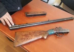 У жителя Самуха изъяли незарегистрированное оружие