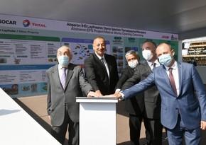 """İlham Əliyev: """"Abşeron"""" qaz-kondensat yatağının yeni mərhələsi başlayır"""