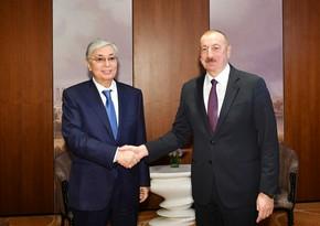 İlham Əliyev Qazaxıstan Prezidentinə telefonla zəng edib