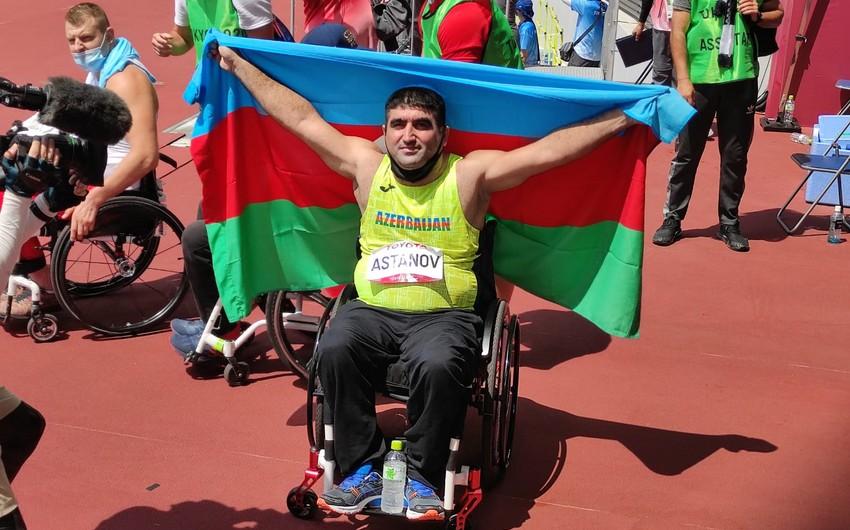 Tokio-2020: Azərbaycan paralimpiyaçıları 8-ci qızıl medalı qazanıb
