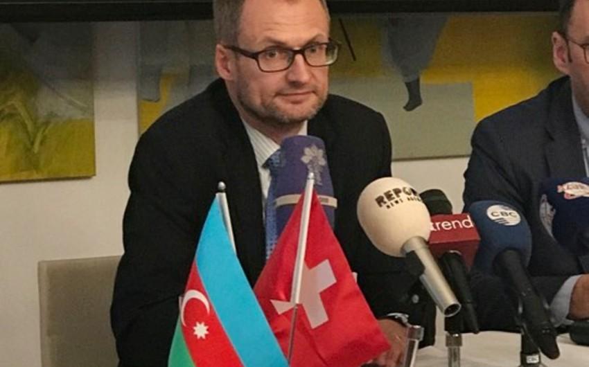 Swiss Ambassador: We hope Azerbaijani President will participate in Davos Forum
