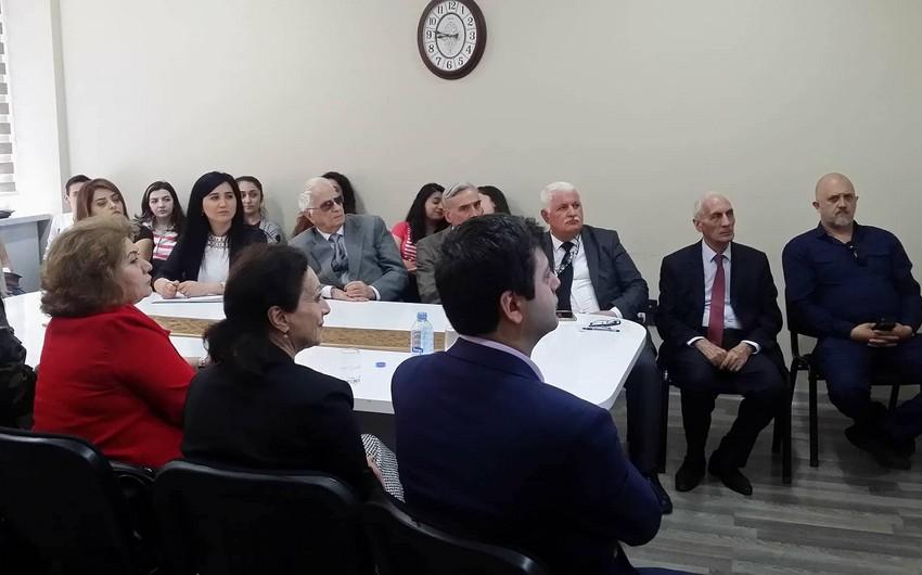 Ermənistan-Azərbaycan Vətəndaş Sülh Platformasının nümayəndələri BDU tələbələri ilə görüşüblər