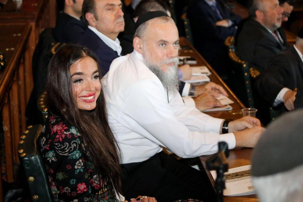Vice-President of Heydar Aliyev Foundation Leyla Aliyeva attends presentation in London