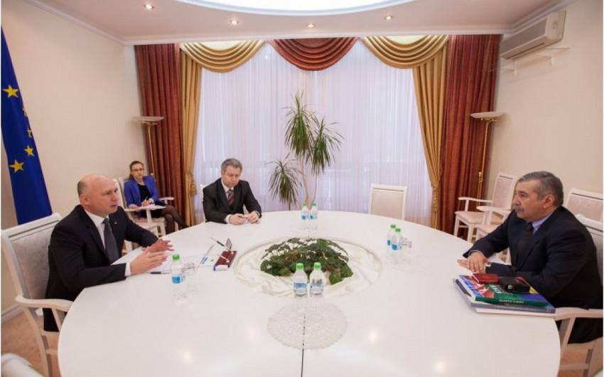 Moldova baş naziri Azərbaycan səfiri ilə görüşüb
