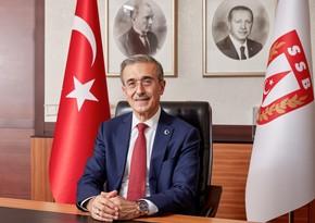 """Türkiyənin Müdafiə Sənayesi Komitəsinin sədri: """"Azərbaycanın zəfəri mübarək olsun"""""""