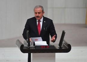 Председатель турецкого парламента поздравил членов Милли Меджлиса