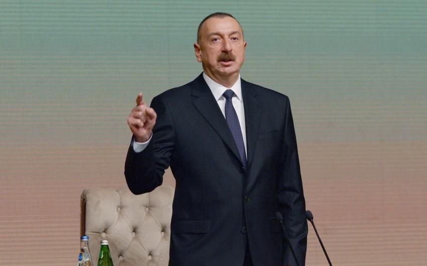 """Prezident İlham Əliyev: """"Azərbaycanda iqtisadi və maliyyə vəziyyəti sabitdir"""""""