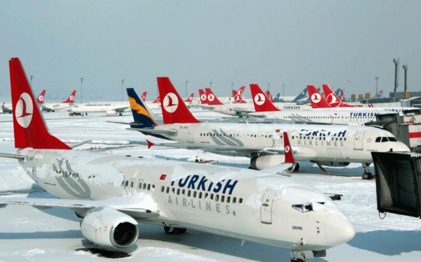 İstanbuldan Bakıya olan aviareyslər ləğv edilib
