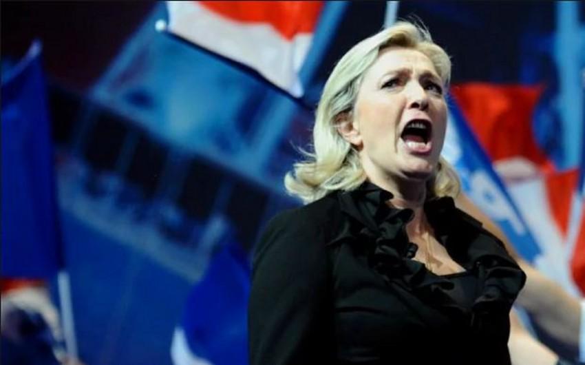 Marin Le Pen bütün əcnəbi məhkumların Fransadan çıxarılacağına söz verib