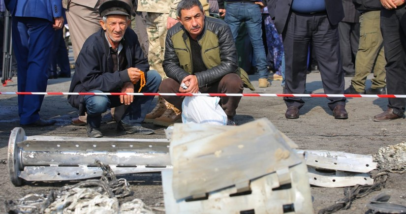 Human Rights Watch confirms use of cluster munitions by Armenia in Barda attack
