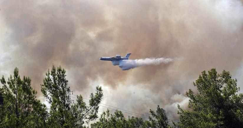 ЕС направит в Турцию три самолета для тушения лесных пожаров