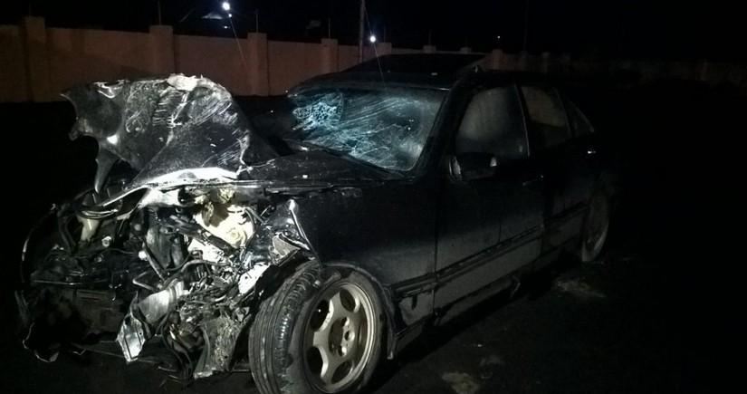 Пострадавших в аварии в Зардабе доставили в Баку