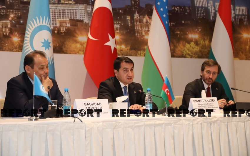 Hikmat Hajiyev: We see a need to create media platform within Turkic Council