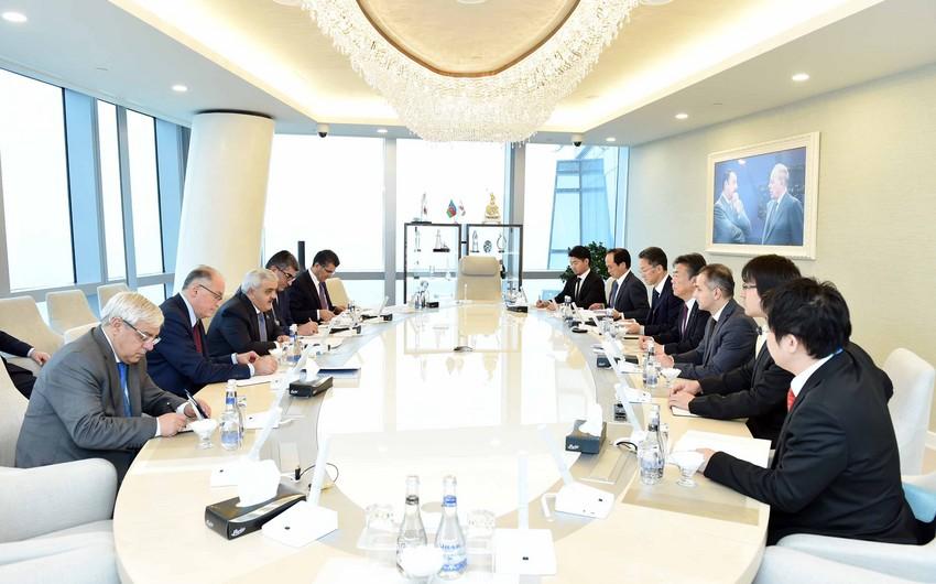 SOCAR President received delegation of Itochu Corporation