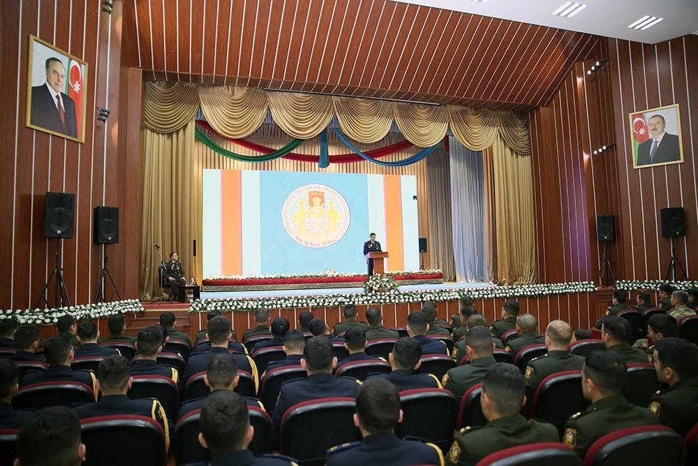 Azərbaycan Ordusu gənclərinin ümumrespublika toplantısı keçirilib