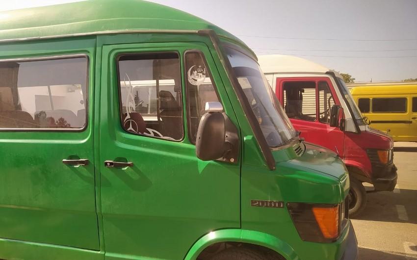 Karantin rejimi qaydalarını pozan mikroavtobus sürücüləri cərimələnib