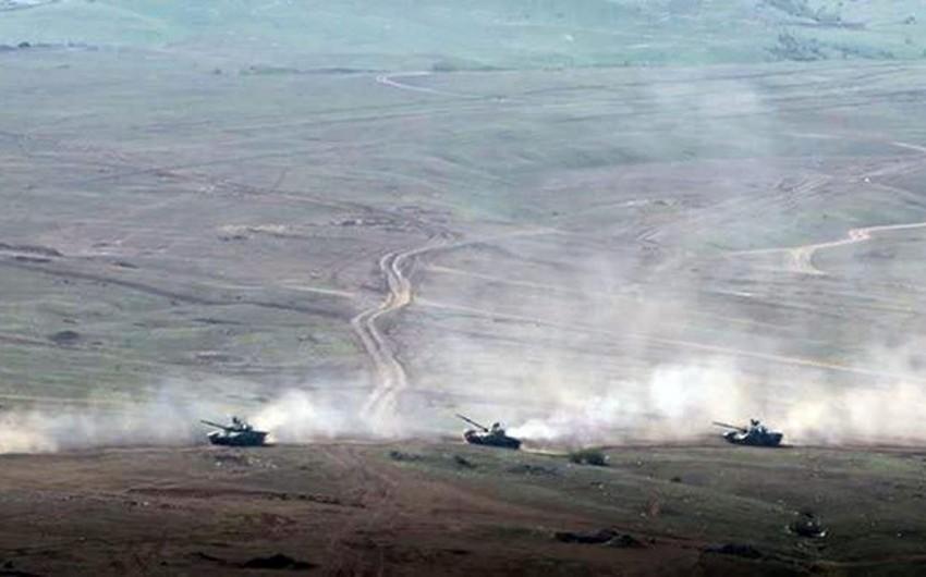 Проведен основной этап широкомасштабных оперативно-тактических учений с боевой стрельбой - ВИДЕО