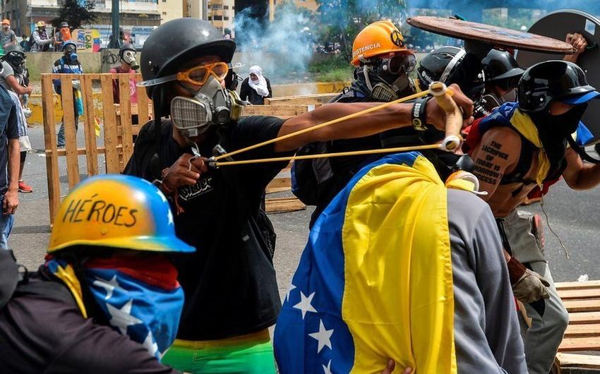 Venesuelada etirazlar zamanı saxlanılanların sayı 791 nəfərə çatıb