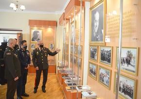 Пакистанский маршал посетилвоенно-учебные заведения Азербайджана