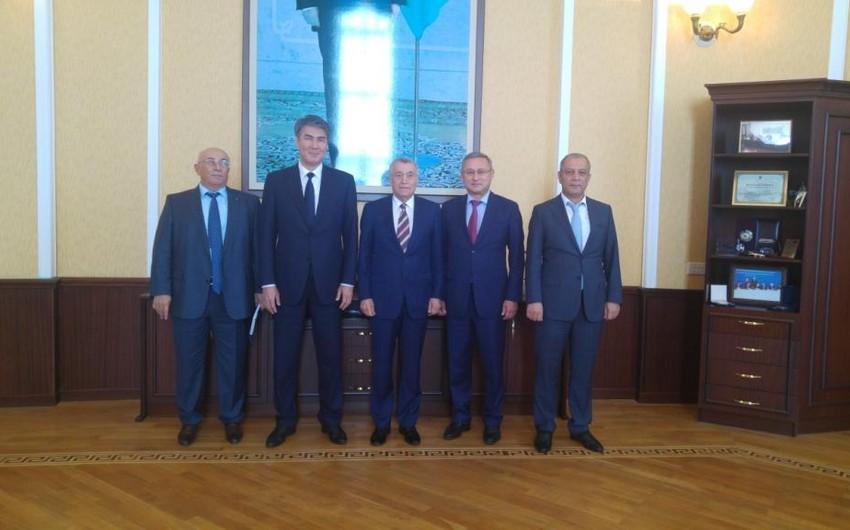 Мэр Астаны встретился с Натигом Алиевым