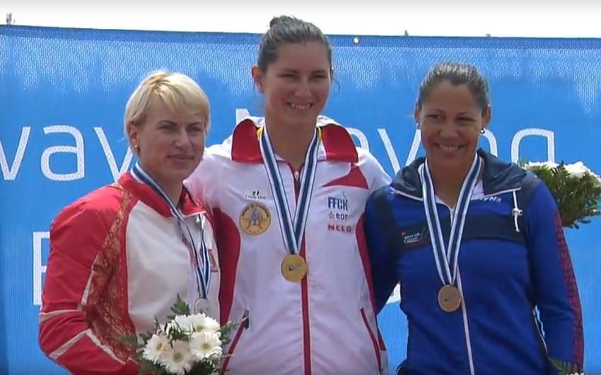 Azərbaycan idmançısı II Dünya Kubokunda gümüş medal qazanıb
