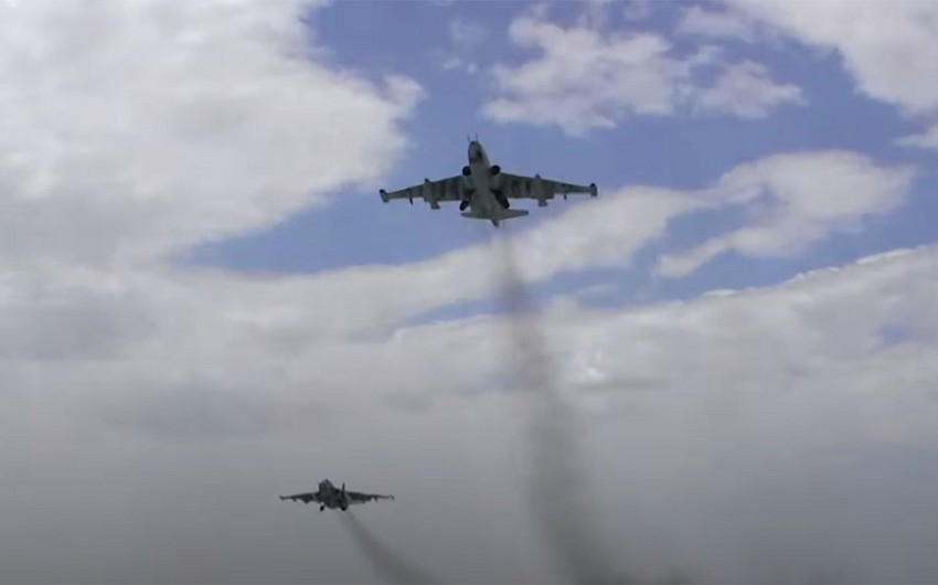 Азербайджанские ВВС выполняют плановые учебно-тренировочные полеты