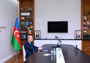 Yeni Təhsil naziri İctimai Şura üzvləri ilə videokonfrans keçirib