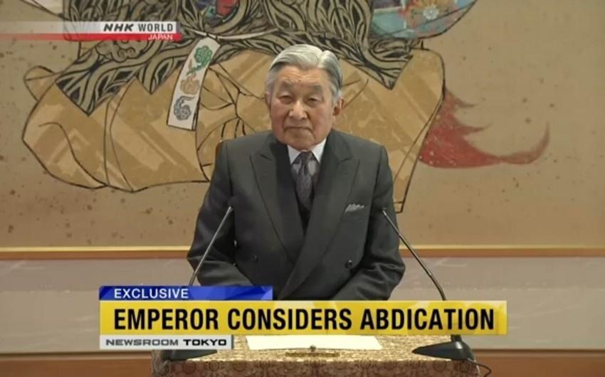 Yaponiya imperatoru taxtdan uzaqlaşmaq niyyətindədir