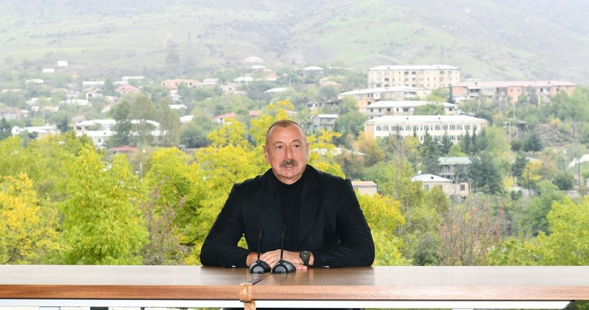 President Ilham Aliyev: After the liberation of Fuzuli, cases of desertion in the Armenian army became even more widespread