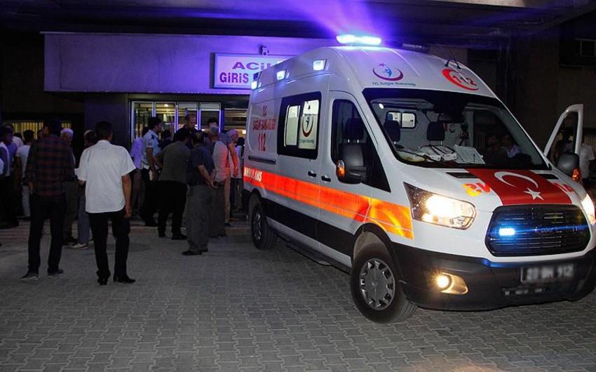 Türkiyədə partlayış baş verib, 1 ölü, 16 yaralı